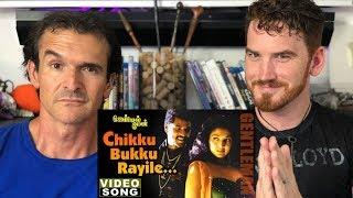 Chikku Bukku Rayile song REACTION!  | AR Rahman | Prabhu Deva
