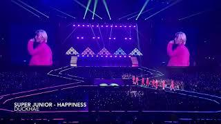 191012 SUPER JUNIOR - Happiness (Super Show 8 Seoul Day 1)