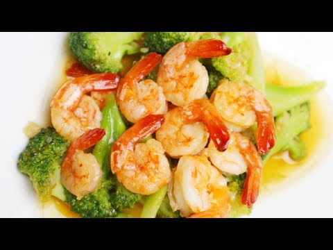 Stir Fried Broccoli With Shrimp Recipe - Tasty Quick Recipe