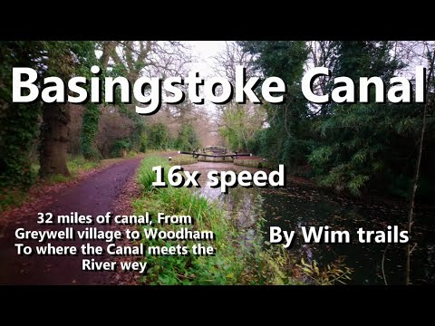 Basingstoke Canal At 16x Speed