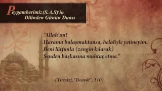 Peygamber Efendimizin (s.a.s) Dilinden Günün Duası