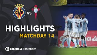 Highlights Villarreal CF vs RC Celta (1-3)