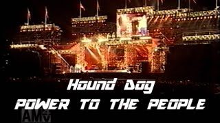 アツヨシ】 Hound Dog 「POWER TO THE PEOPLE(歌詞付き)」 99夢の島FINAL