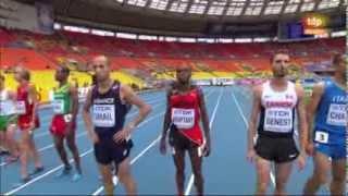 Campeonato del Mundo Moscú 2013 - 3000 m obstáculos masculino - Serie 2 [12-08-2013]