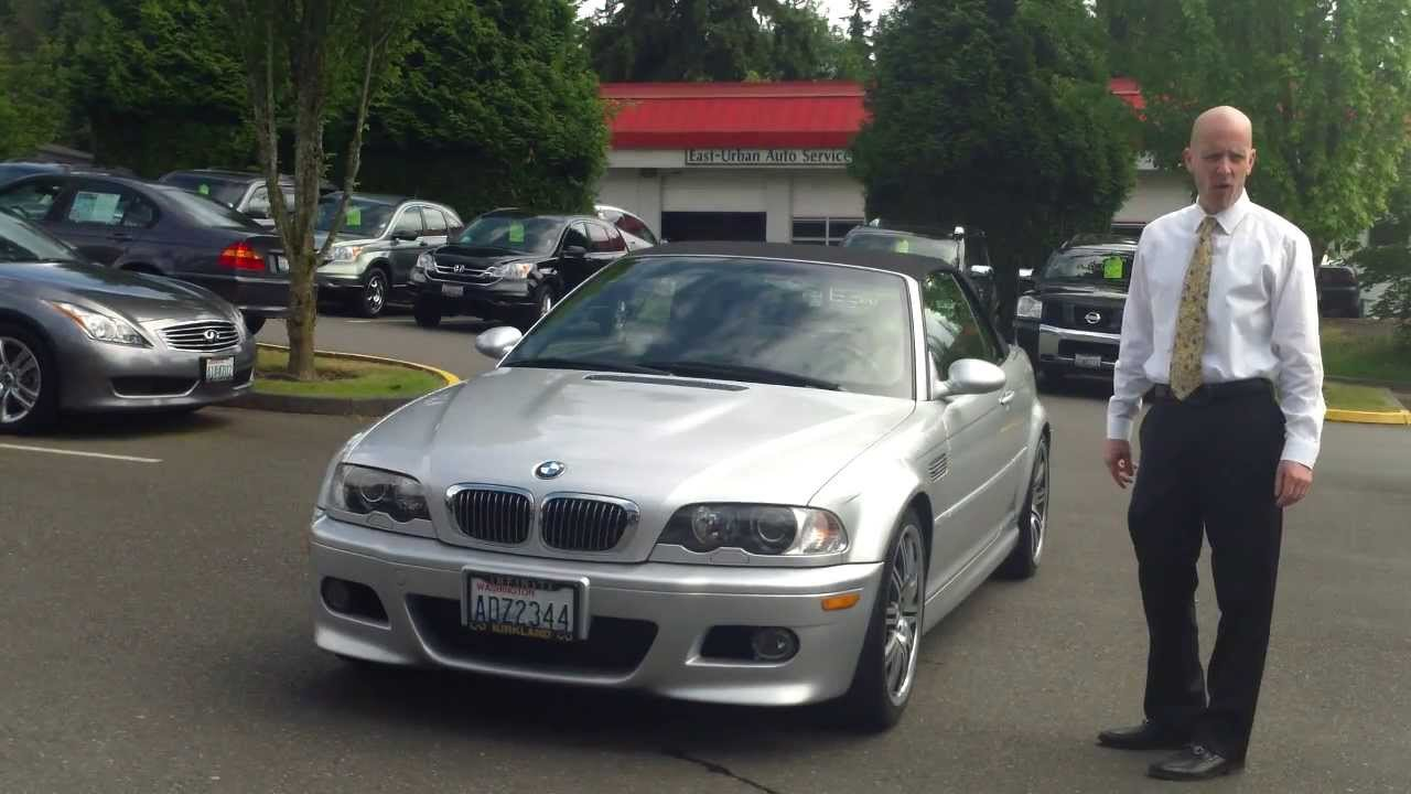2002 Bmw M3 Convertible Review In 3 Minutes You Ll Be An Expert On The