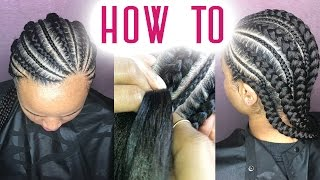 How To Feed In Braids