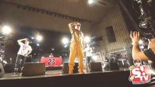 """G-PEN a.k.a. Sanchama """"ONIDEKA SIZE"""" LIVE with スチャダラパー 2013..."""