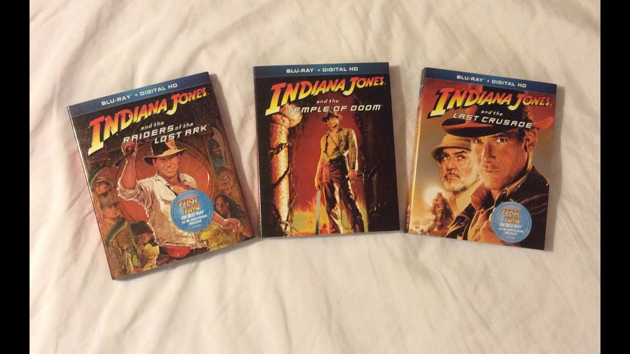indiana jones adventures collection 19812008 blu ray