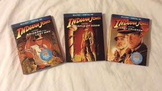 Indiana Jones: Adventures Collection (1981-2008) Blu Ray Review and Unboxing