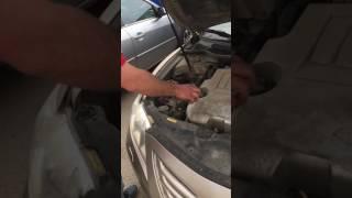 Замена лампы на Тойота Камри