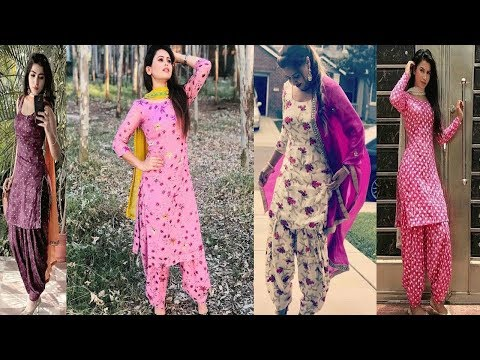 Simple Daily Wear Printed Punjabi suits Designs||Printed  Patiala Salwar Suits Designs Ideas