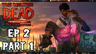| LOSING LOVED ONES | THE WALKING DEAD Season 3 Ep 2 Part 1, A NEW FRONTIER