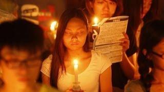 180,000 ngọn nến thắp lên để tưởng niệm nạn nhân Sự kiện Thiên An Môn