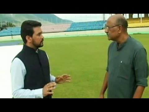 Choice of commentator lies with broadcaster, not BCCI: Anurag Thakur