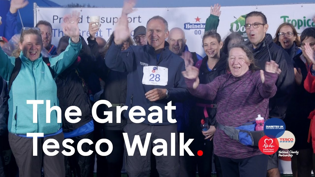 The Great Tesco Walk | Launch day
