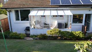 £10.000 Conservatory or the £300.00 Garden Room.Take a look and see what you think.