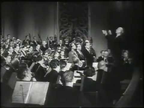 Furtwängler conducts the Vienna Philharmonic Orchestra, 1951 (Ending of Beethoven's Choral Symphony)
