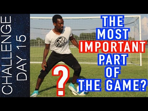 5 WAYS TO IMPROVE BALL CONTROL- FIRST TOUCH - TRAIN LIKE A PRO | Day 15