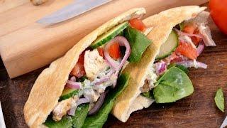 Chicken Gyro Recipe - How to Make Tzatziki Sauce  RadaCutlery.com