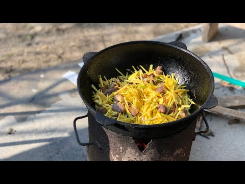 Как правильно готовить узбекский плов из девзиры.Узбекистан.Андижан.