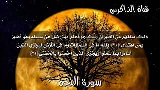 سورة النجم اسلام صبحي تلاوة خاشعه تاخذك بعيدا