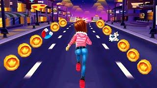 Subway Princess Runner Game : NIGHT MODE Run | Android/iOS Gameplay HD screenshot 3
