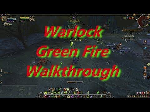 Warlock Green Fire Quest Walkthrough - BFA 8.0.1 Patch