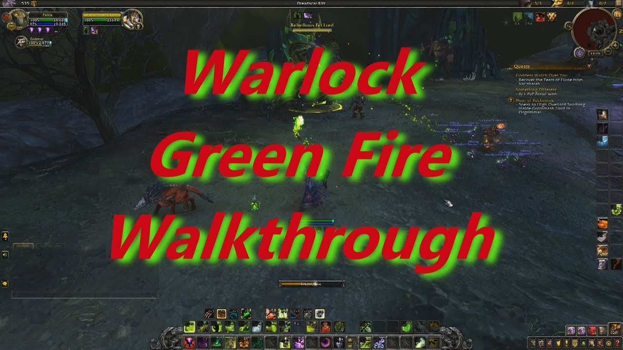 Green Fire Quest