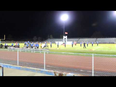 Blue Mountain High School Marching Band at Pittston Area 11/02/13