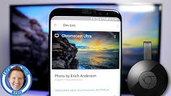 Personalize Google Chromecast Backdrop With Your Own Photos