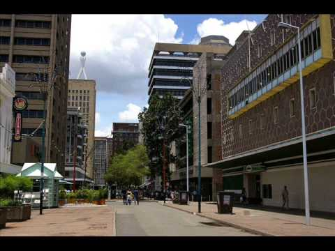 Harare - The capital of Zimbabwe Cityscapes