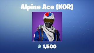 Alpine Ace (KOR) | Fortnite Outfit/Skin