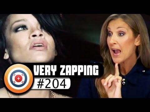 Céline Dion se prend pour Rihanna, parodie du clip de Miley Cyrus...Veryzapping #204