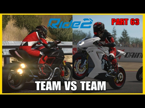 RIDE 2 PS4 PRO gameplay Part 63 | TEAM VS TEAM P3 | #RIDE2