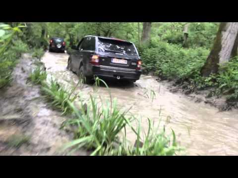 Eastnor Castle LR Show, Range Rover Sport Off Road