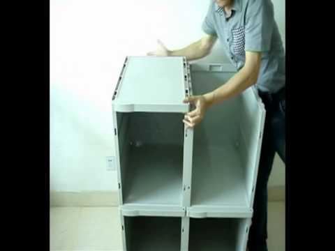 Single tier lockers