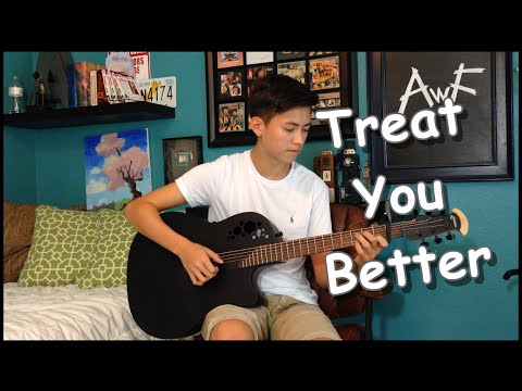 Shawn Mendes  Treat You Better   Fingerstyle Guitar