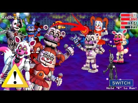 Team Fnaf Sister Location In Fnaf World (Mod)