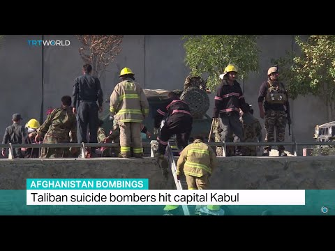 Afghanistan Bombings: Third suicide attack and gunfire in Kabul