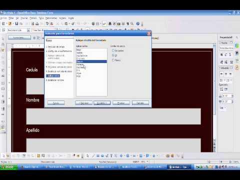 Conexion De OpenOffice BASE Con MySql