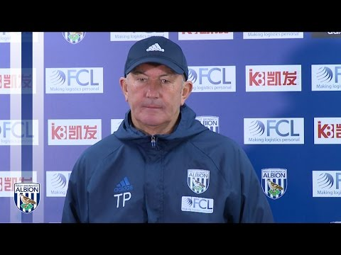 Tony Pulis looks ahead to Albion's trip to Burnley