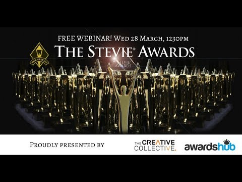 The Benefits of Entering Business Awards + the Stevie Awards