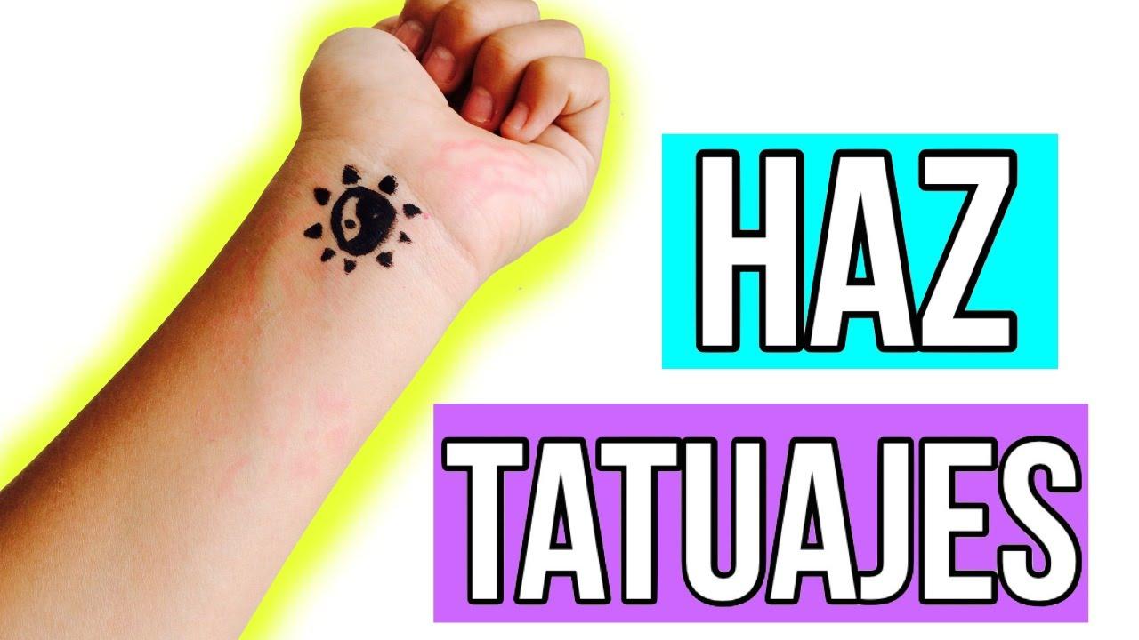 Tatuajes Temporales Badabun haz tu propios tatuajes temporales ♡ - youtube