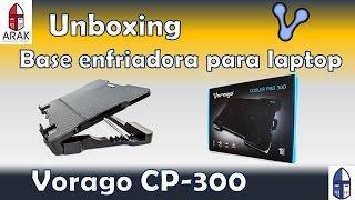 Unboxing Base enfriadora (Cooler PAD) para laptop Vorago CP-300