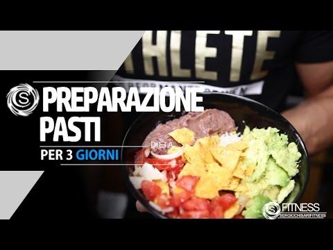 Pranzo Proteico Veloce : Preparazione pasti per giorni colazione pranzo cena e snack