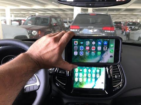2018-2020 Jeep Compass CarPlay Android Auto MirrorLink Uconnect LockPick Air HD V2