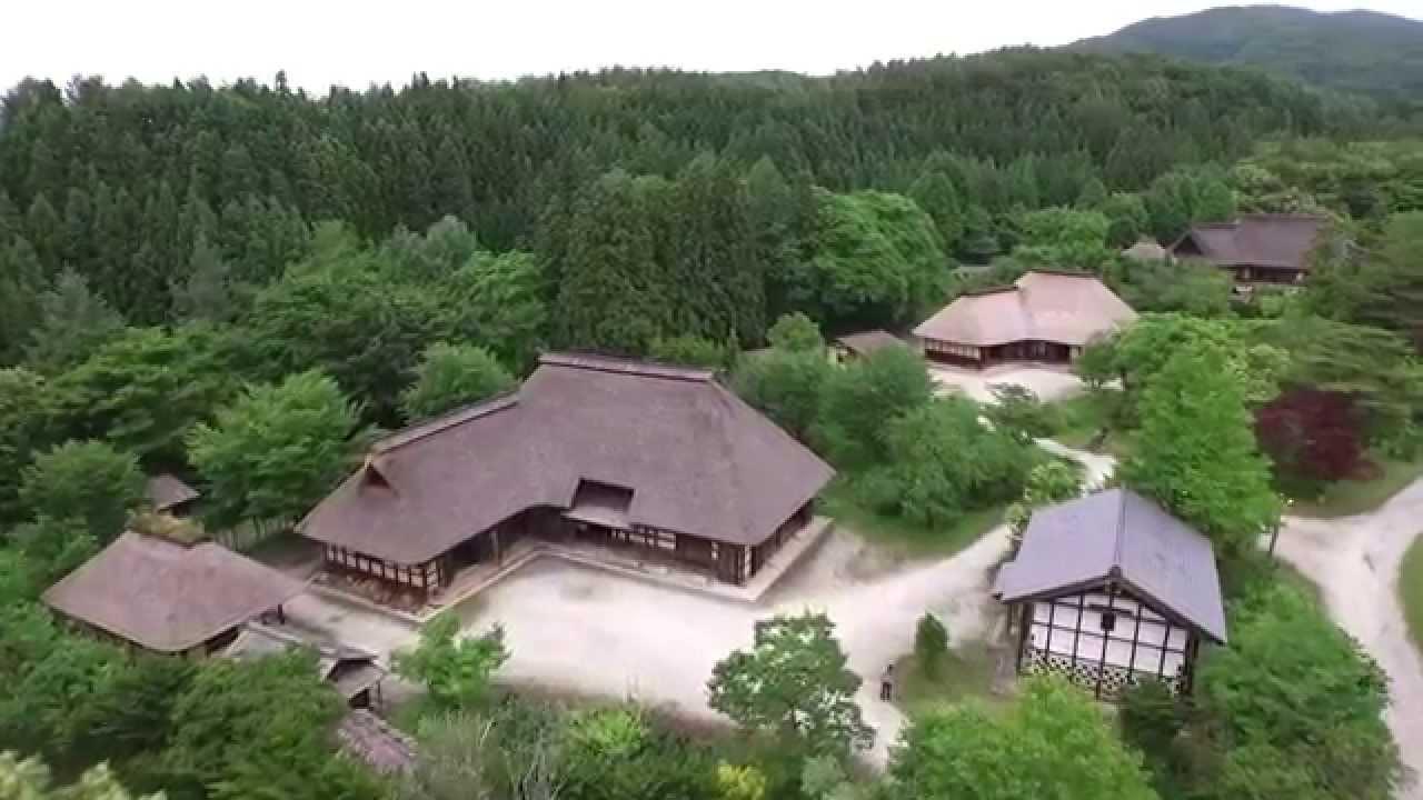 【ドローン空撮】真田丸、軍師官兵衛のロケ地のふるさと村 ...