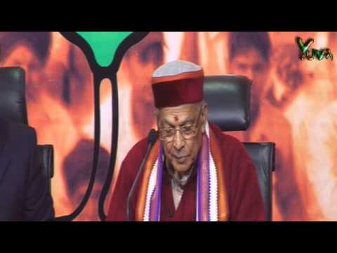 LIVE :: BJP Press Conference by Dr. Murli Manohar Joshi on the issue Sushilkumar Shinde statement