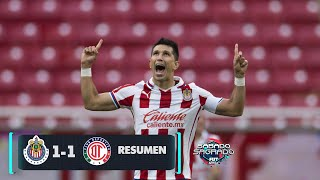 Chivas 1-1 Toluca | Resumen y goles | Jornada 2 | Guardianes 2021