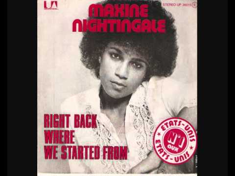 maxine nightingale - right back to where we...